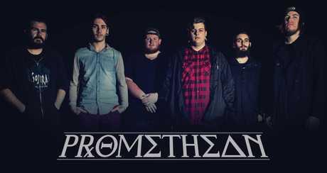 Toowoomba deathcore band Promethean.