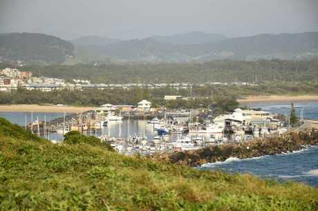 Scenes from Coffs Harbour including Jetty Beach and Muttonbird Island.