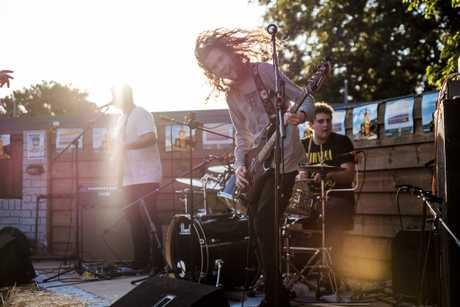 Toowoomba rock band Venice on Fire.