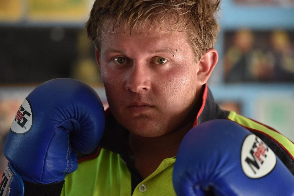 Boxer - Jack McInnes,22, from Hervey Bay.