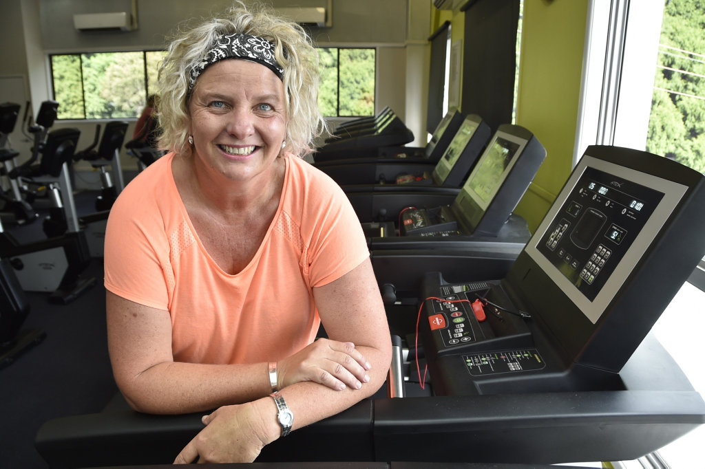 Jo Capp, the director of The Event Group Toowoomba has lost weight and gained firness. She is training to run the Peak to Park. February 2017