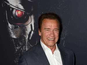 """Schwarzenegger V Trump: """"How about we swap jobs?"""""""