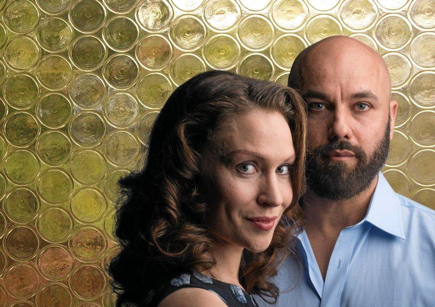 NIGHT OUT: David Williamson's new play Odd Man Out, starring Lisa Gormley and Justin Stewart Cotta, will be performed in March at the Noosa J.