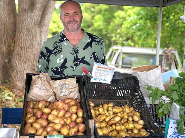 DISAPPOINTED: Mike Burless is puzzled why Ballina Shire councillors would not renew his licence to manage the market, and unhappy that the time and effort he has invested will go to waste.