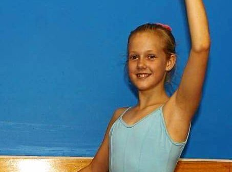 DETERMINED DANCER: Toowoomba ballerina Ainsleigh Rule, 13, is raising money so she perform and train in Europe.