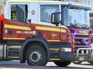 Toowoomba man fighting for life after kitchen fire
