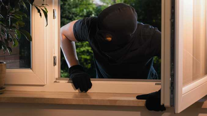 Burglars entered a Meero Street, South Mackay home and stole car keys while the resident slept.