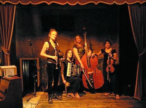 COMING SOON: The London Klezmer Quartet.