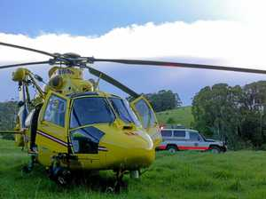 ACCIDENT: Boy airlifted after falling from tree