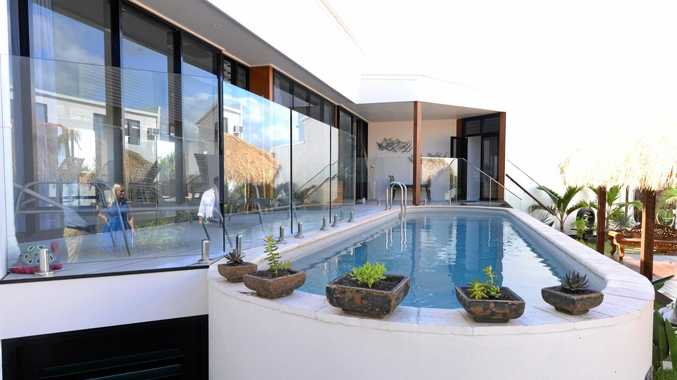 FIVE-STAR: Shane and Pascaline Emms will offer team building and wellness programs at Zen Beach Retreat at Bargara.