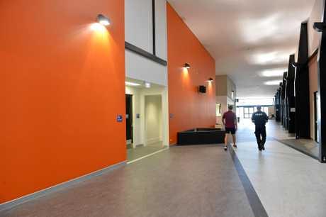 The foyer in Bundaberg's new $15 million Multiplex.