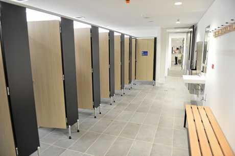 Amenities in Bundaberg's new $15 million Multiplex.