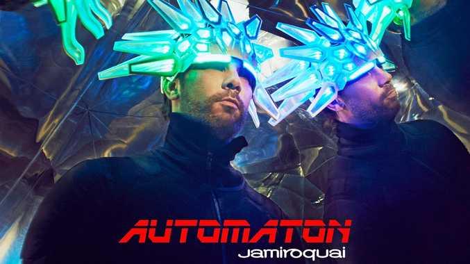 Artwork for Jamiroquai's 2017 release Automaton.