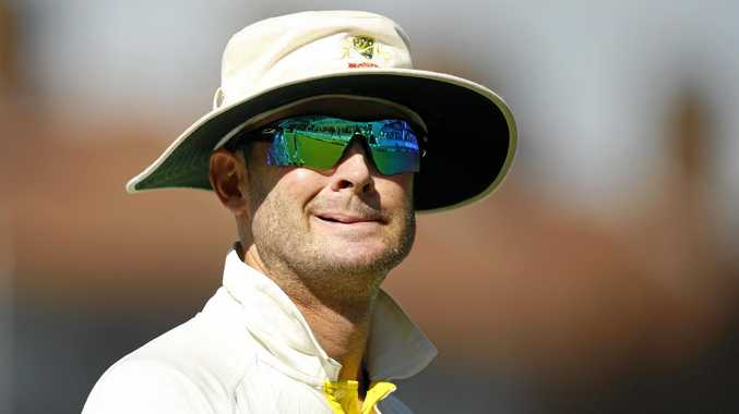 Australian skipper Michael Clarke during the fifth Ashes Test in 2015.