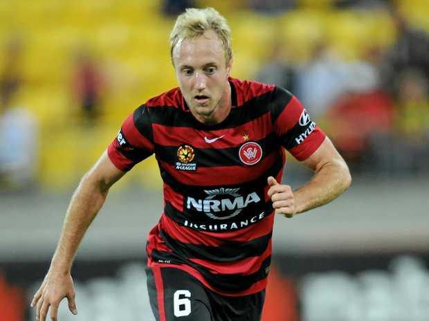 The Western Sydney Wanderers' Mitch Nichols.