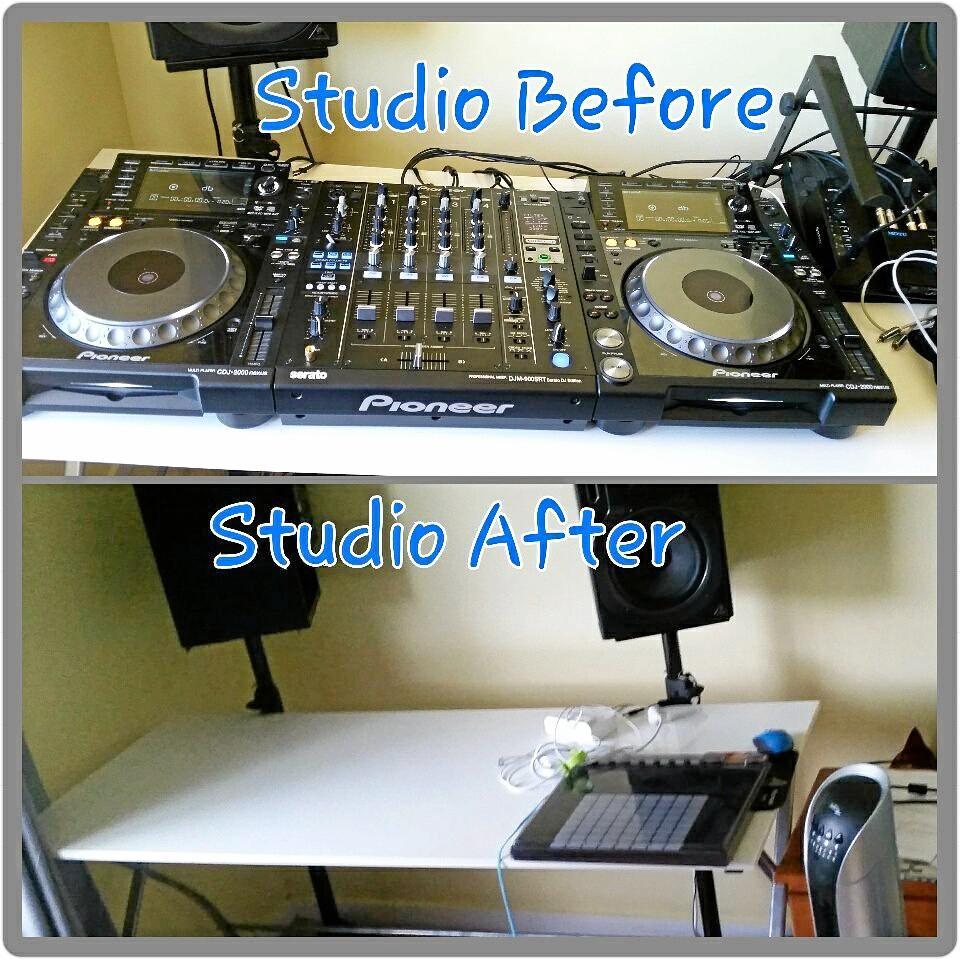 DJ equipment that was stolen.