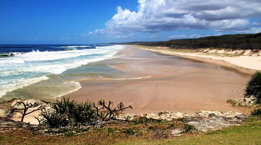 GLORIOUS SURROUNDINGS: Main Beach Point Lookout at North Stradbroke Island.