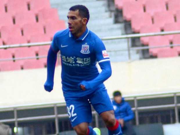SET TO ROAR: Carlos Tevez will play for China's Shanghai Shenhua against Brisbane Roar next week.