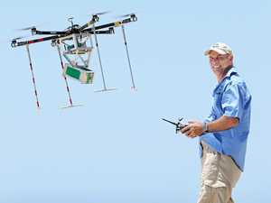 Ash-scattering drone an Aussie first