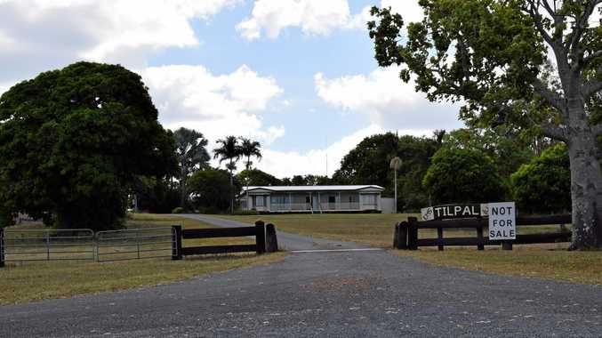Stanage Bay Rd property 'Tilpal' owned by the Olive family who have four properties in the proposed land acquisition area for the expansion of Shoalwater Bay Military Expansion Area.