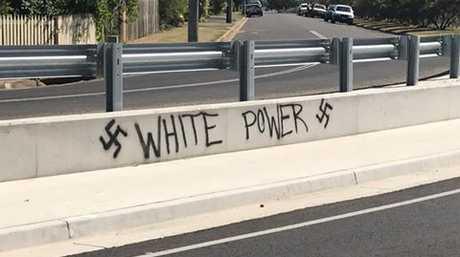 Vandalism in Bundaberg.