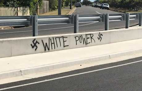 Vandalism in Bundaberg.