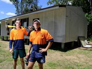 Scouts rebuild after floods