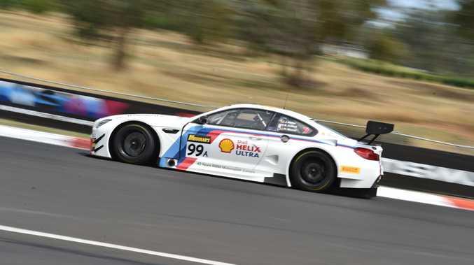 BMW M6 GT3 at Bathurst 12 Hour qualifying