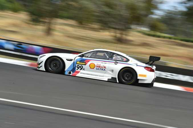 BMW M6 GT3 at Bathurst 12 Hour qualifying