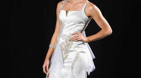 Jason Chetcuti's designs will be on show at the Mackay Premier 31st Bridal Fair