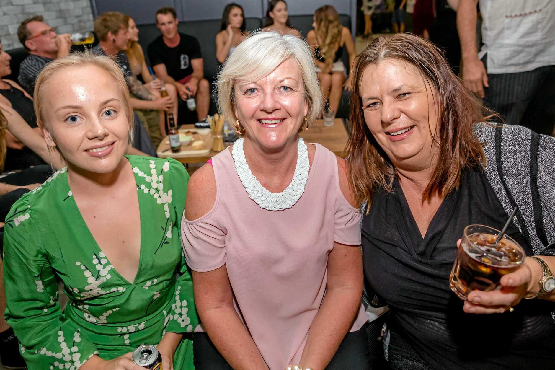 Jenna Post, Glenda Stewart and Lerae Flaherty.