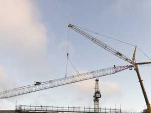 Grand Central crane removed