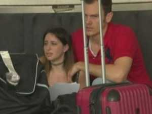 Aussie journo's near miss in airport shooting