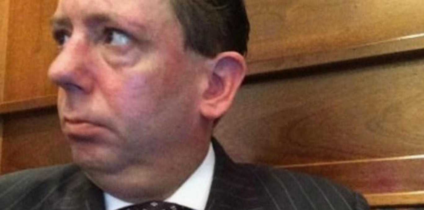 The lawyer had been drinking when he launched into a racist tirade on a Virgin train. Photo: Twitter