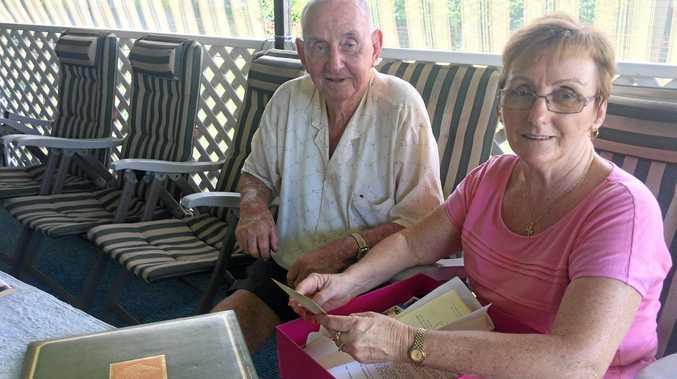 Glen Walters with his daughter Colleen Ingham