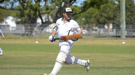 Easts' Andrew Latham dominated in the early stages of the side's innings with a determined half century.