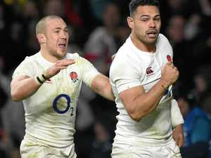 England stumbles home for win over France
