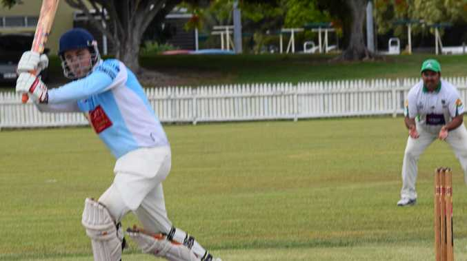 TOP KNOCK: Ballina Bears batsman Toby Hordern, whose 109 highlighted Bears' win over the Cavaliers.