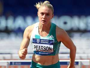 Pearson makes encouraging return to track