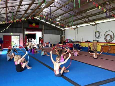 Spaghetti Circus held an open day at Mullumbimby on Saturday.