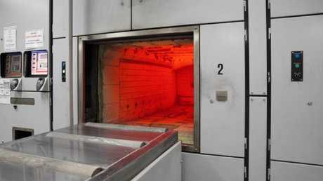 Temperatures inside the cremator need to be between 800-1000 degrees Celsius to operate.