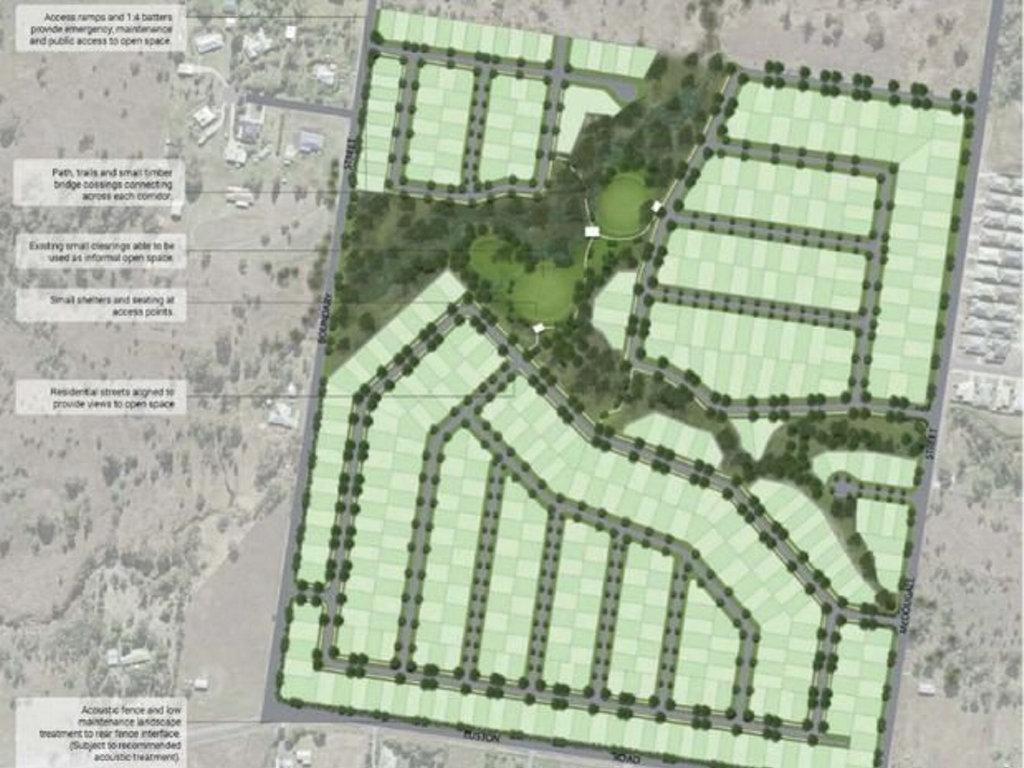 Eustondale Master Planned housing estate.