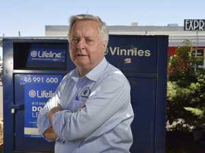 Charity boss frustrated by bin theft