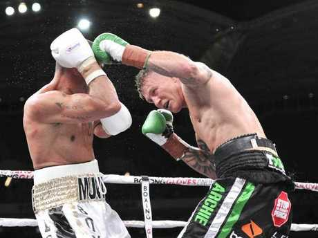 The illegal streams of Anthony Mundine and Danny Green's fight were viewed by hundreds of thousands of viewers.