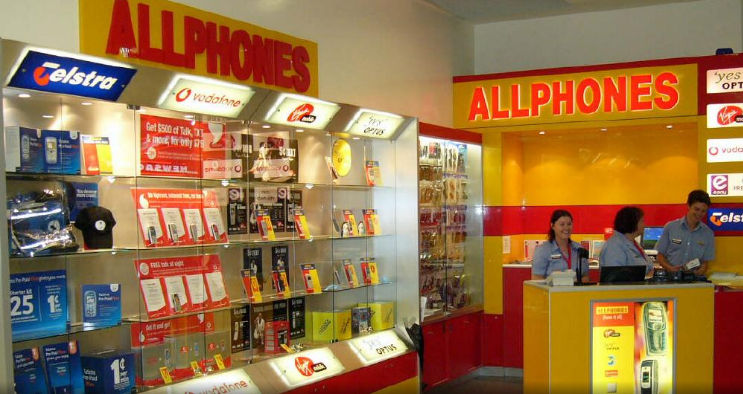 Australia's largest independent phone retailer, Allphones, has reportedly gone into administration. Picture: News Limited