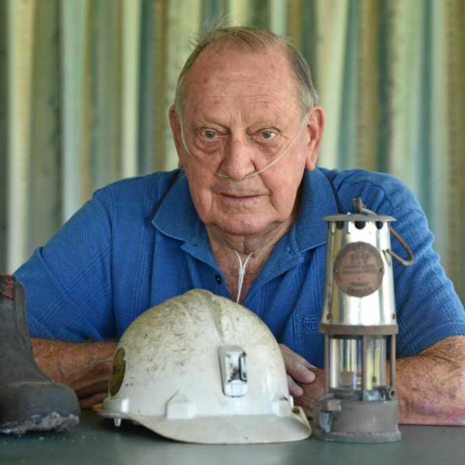 Stanley Wilson from Burrum Heads - former miner at the Burrum coalfields.