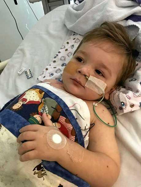 Eli Fapani was diagnosed with meningococcal.