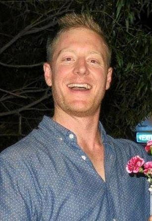 Scott Hoare before his accident.