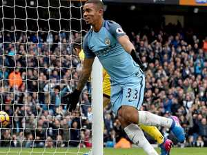 Jesus saves City's blushes with late winner in EPL