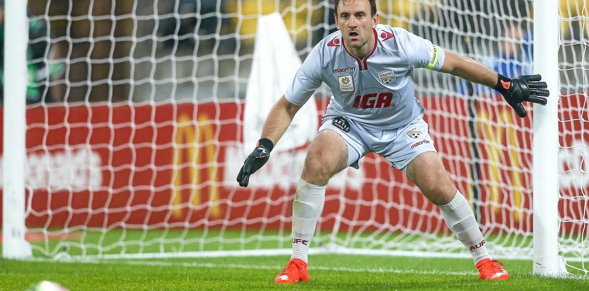 Eugene Galekovic is set to miss a number of games with a shoulder injury.